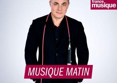 """Matinale """"Musique Matin"""" avec Vincent Beer-Demander et Lalo Schifrin."""