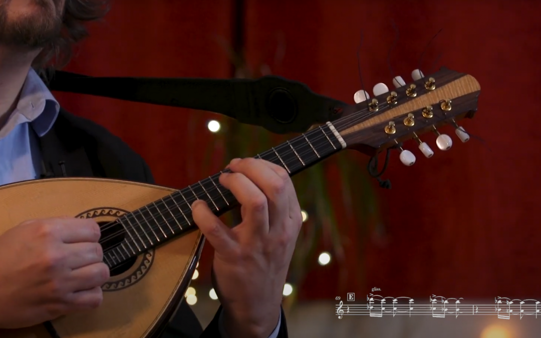 Master class de Mandoline sur Youtube