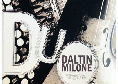 VIRGULES RYTHMIQUES – DUO DALTIN MILONE